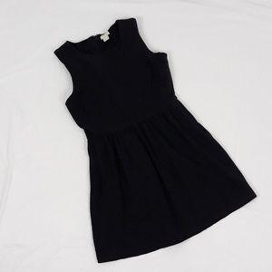J.Crew Heathered Daybreak XS Dress Black Gray